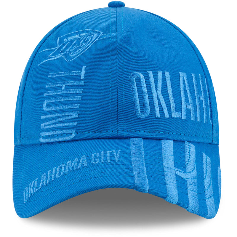 OKLAHOMA CITY THUNDER NEW ERA NBA 19 TIPOFF SERIES 9TWENTY - BLUE