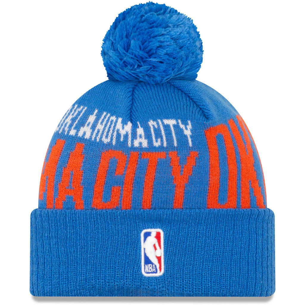 OKLAHOMA CITY THUNDER NBA 19 TIPOFF SERIES KNIT