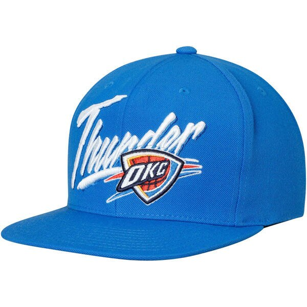 OKLAHOMA CITY THUNDER MITCHELL AND NESS VICE SNAPBACK