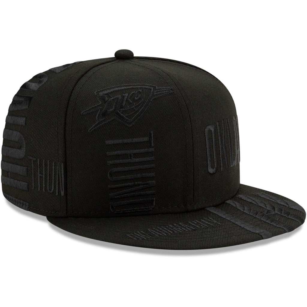 OKLAHOMA CITY THUNDER NEW ERA NBA 19 TIPOFF SERIES 9FIFTY SNAPBACK- BLACK