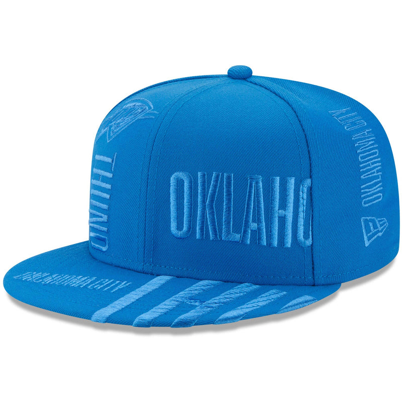 OKLAHOMA CITY THUNDER NEW ERA NBA 19 TIPOFF SERIES 9FIFTY SNAPBACK- BLUE