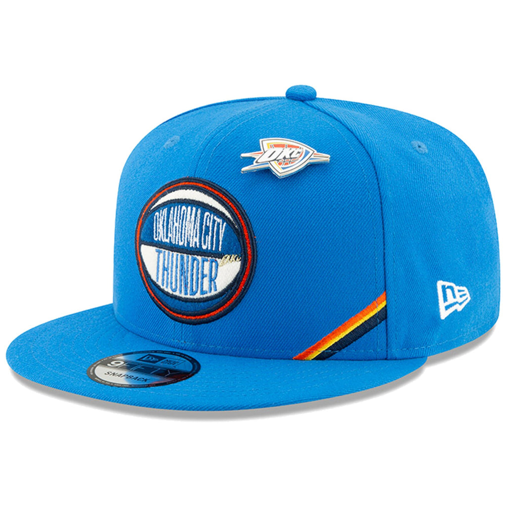 OKLAHOMA CITY THUNDER NEW ERA NBA 19 DRAFT 9FIFTY SNAPBACK