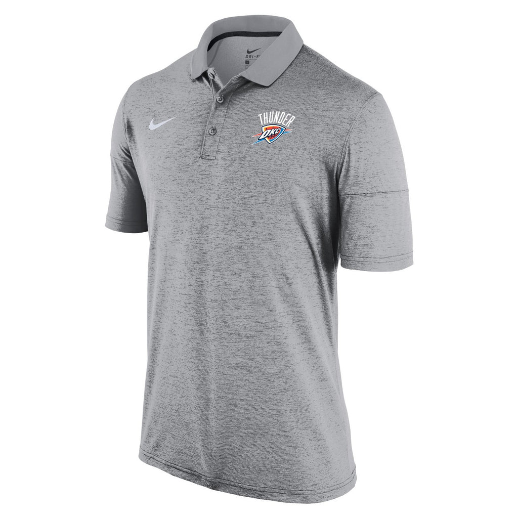 OKLAHOMA CITY THUNDER NIKE MENS DRY SHORT SLEEVE POLO