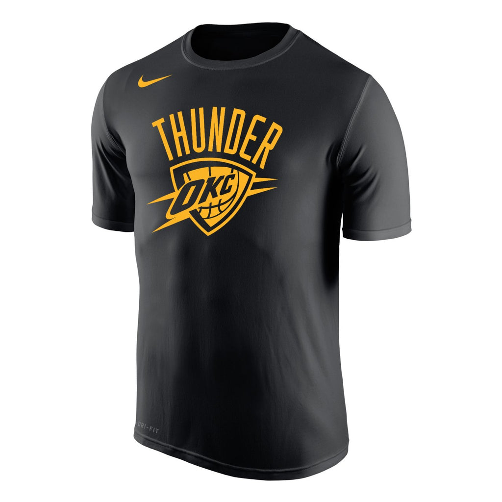 OKLAHOMA CITY THUNDER MENS NIKE DRI-FIT CITY EDITION SHORT SLEEVE TEE