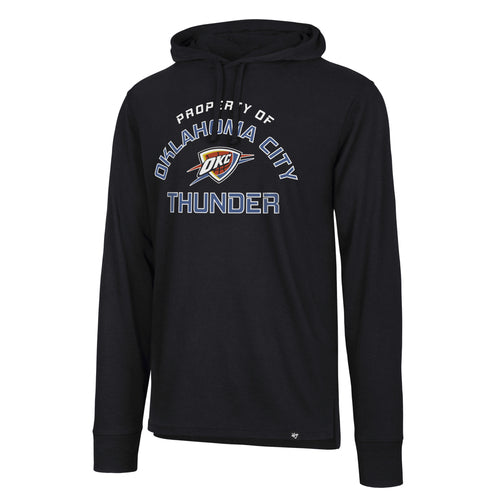 OKLAHOMA CITY THUNDER 47BRAND SPLITTER PROPERTY OF HOODIE