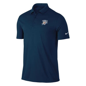 OKLAHOMA CITY THUNDER NAVY NIKE VICTORY POLO