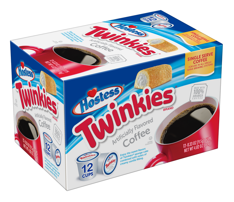 Hostess® Twinkies® Flavored Coffee, 72 Count, Single Serve Coffee Pods for Keurig K-Cup Brewers