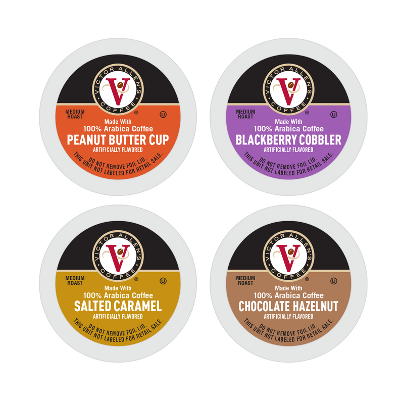 Victor Allen's Coffee Spring Variety Pack, Medium Roast, Single Serve Coffee Pods for Keurig K-Cup Brewers