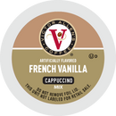 Victor Allen's Coffee French Vanilla Cappuccino Single Serve Cups for Keurig K-Cup Brewers