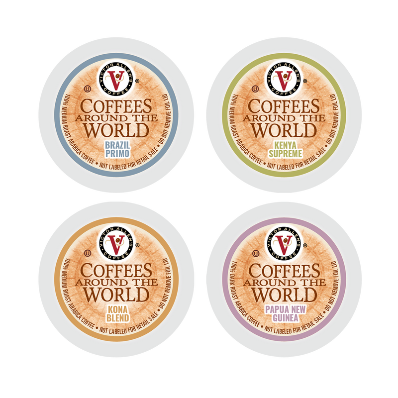 Victor Allen's Coffee Around The World Special Reserve Collection Variety Pack, 96 Count, Single Serve Coffee Pods for Keurig K-Cup Brewers