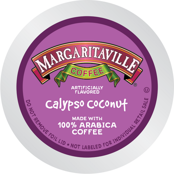 Margaritaville® Calypso Coconut Coffee for K-Cup Keurig 2.0 Brewers
