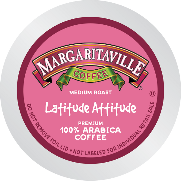 Margaritaville® Latitude Attitude, Medium Roast, Single Serve Coffee Pods for Keurig K-Cup Brewers