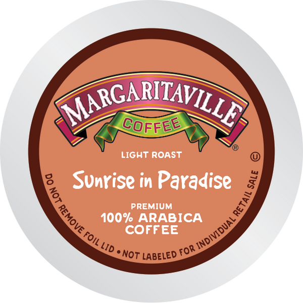 Margaritaville® Sunrise in Paradise Coffee, 48 Count, Light Roast, Single Serve Coffee Pods for Keurig K-Cup Brewers