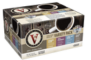 Victor Allen's Coffee Variety Pack, Light-Dark Roasts, Single Serve Coffee Pods for Keurig K-Cup Brewers