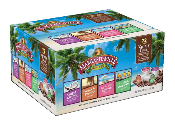 Margaritaville® Coffee Variety Pack for K-Cup Keurig 2.0 Brewers