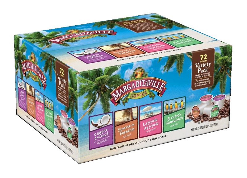 Margaritaville® Coffee Variety Pack Single Serve Coffee Pods for Keurig K-Cup Brewers