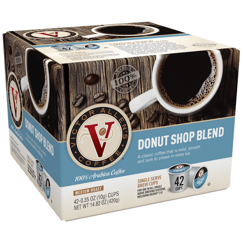 Donut Shop Blend Coffee for K-Cup Keurig 2.0 Brewers