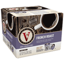 Victor Allen's Coffee French Roast, Dark Roast, Single Serve Coffee Pods for Keurig K-Cup Brewers