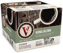Victor Allen's Coffee Kona Blend, Medium Roast, Single Serve Coffee Pods for Keurig K-Cup Brewers