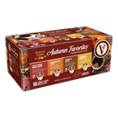 Autumn Favorites Variety Pack 96 Count Single Serve Coffee Pods for Keurig K-Cup Brewers