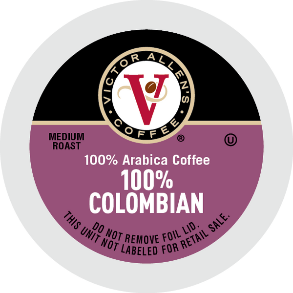 Victor Allen's Coffee, 100% Colombian Coffee, Single Serve Coffee Pods for Keurig K-Cup Brewers
