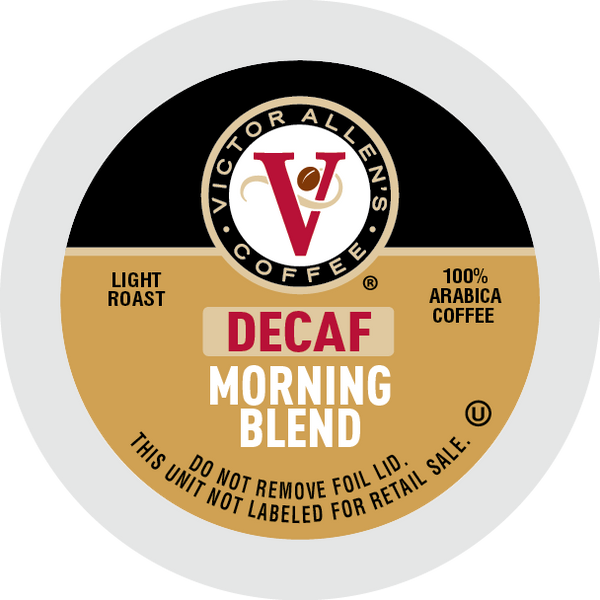 Decaf Morning Blend Coffee for K-Cup Keurig 2.0 Brewers