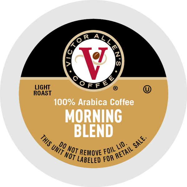 Victor Allen's Coffee Morning Blend, Light Roast, Single Serve Coffee Pods for Keurig K-Cup Brewers