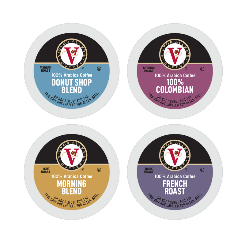 Victor Allen's Coffee Favorites Variety Pack Single Serve Coffee Pods for Keurig K-Cup Brewers