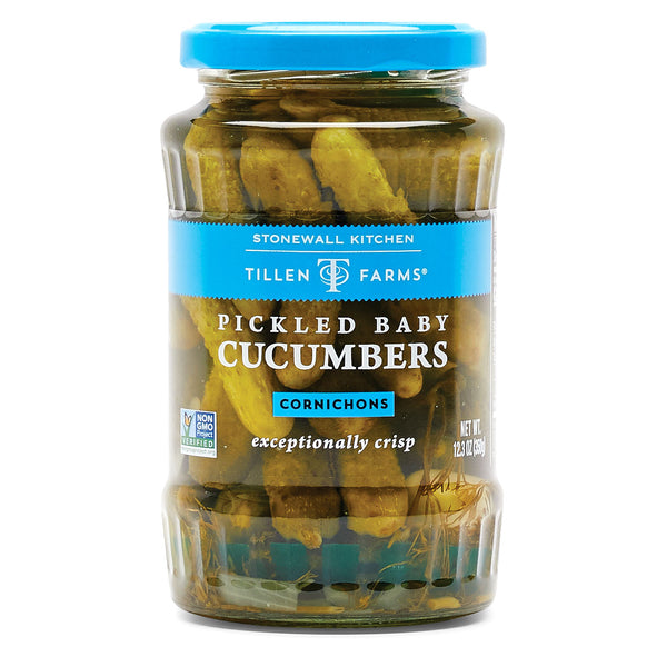 Tillen Farms Pickled Baby Cucumbers