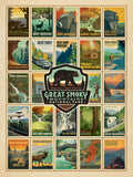 Great Smokey Mountains National Park 500 Piece Jigsaw Puzzle