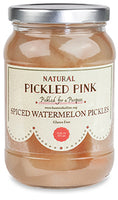 Pickled Pink Spiced Watermelon Pickles