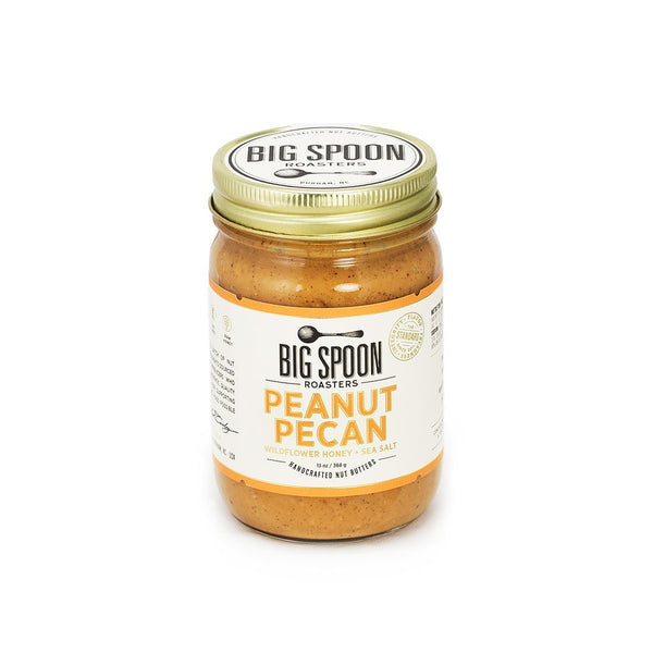 Big Spoon Roasters Peanut Pecan Butter with Wildflower Honey & Sea Salt