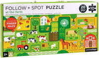 Follow + Spot Puzzle - Around Town
