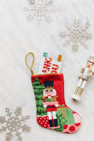 Bauble Stocking-Classic Nutcracker