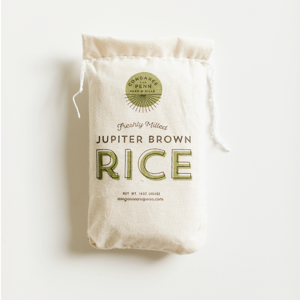 Congaree and Penn Jupiter Brown Rice