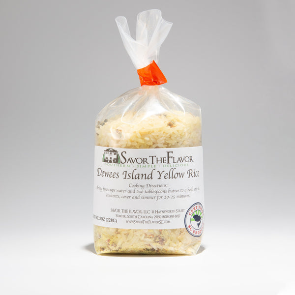 Dewees Island Yellow Rice