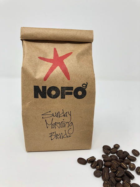 NOFO Sunday Morning Blend Coffee - whole bean