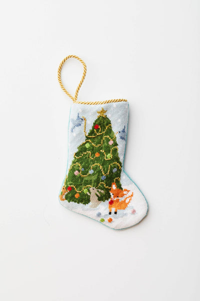 Bauble Stocking-Woodland Creatures