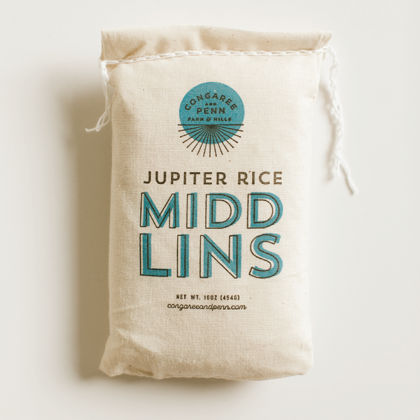 Congaree and Penn Jupiter Rice Midlins
