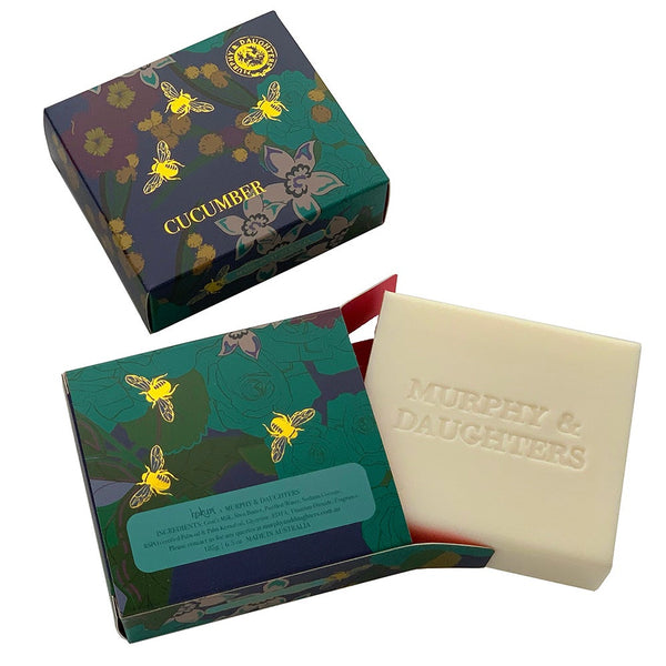 Murphy & Daughters Cucumber Boxed Soap
