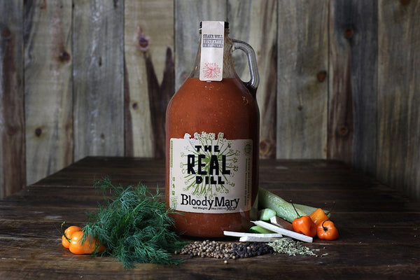The Real Dill Bloody Mary Mix - 64 oz Growler