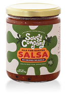 Saucy Company Mild Fire Roasted Salsa