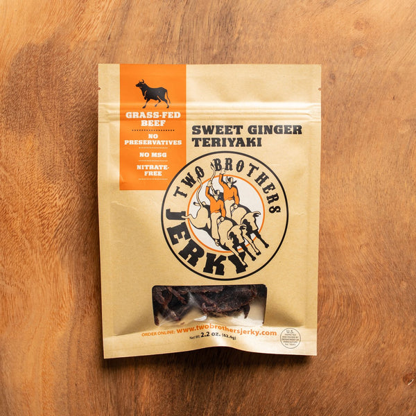 Two Brothers Sweet Ginger Teriyaki Beef Jerky