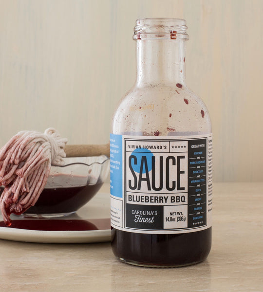 Vivian Howard's Blueberry BBQ Sauce