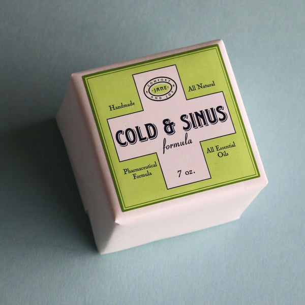Cold and Sinus Effervescent Bath Cube