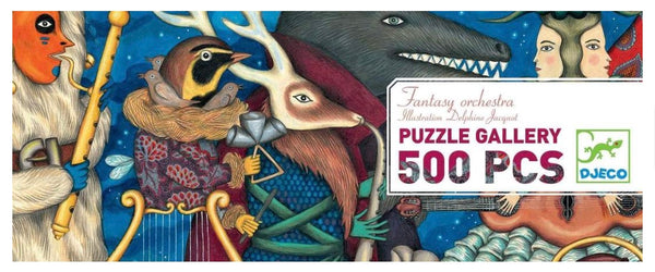 Fantasy Orchestra Gallery Puzzle - 500 Pieces