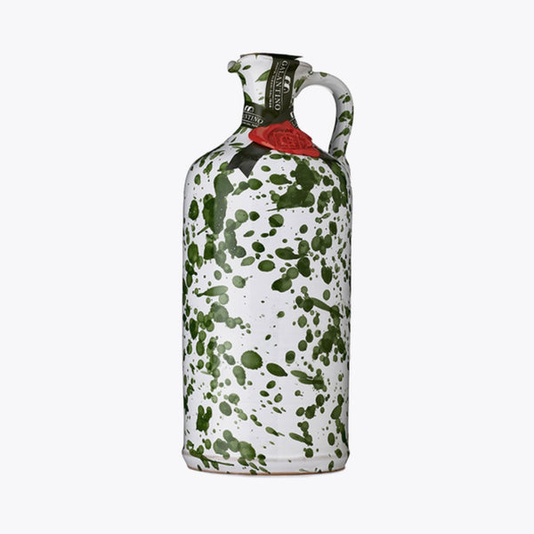 Galantino Extra Virgin Olive Oil in Ceramic - Green