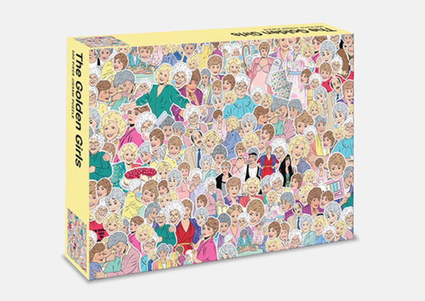 Golden Girls 500 Piece Jigsaw Puzzle