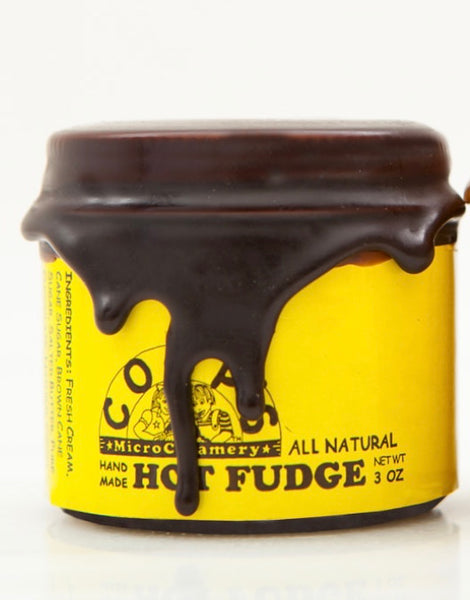 Coop's MicroCreamery Hot Fudge Sauce – mini jar