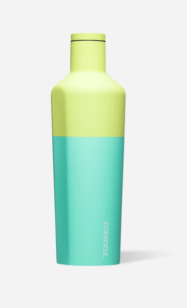 Corkcicle stemless insulated canteen - Limeade 16 oz